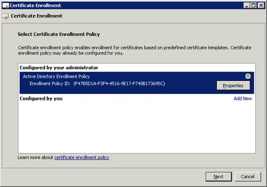 Create and enroll certificates for certificate based in the certificate template screen choose enrollment agent and click enroll yadclub Image collections