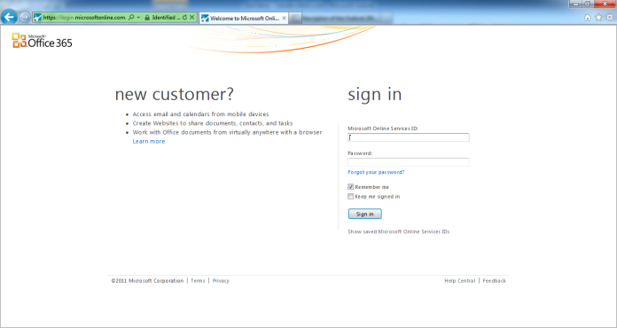 Office365OWA Login