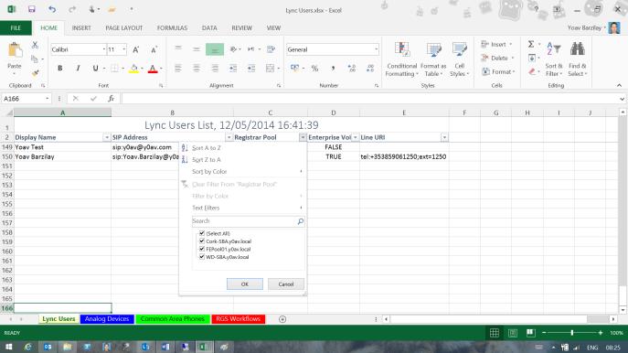 Lync users