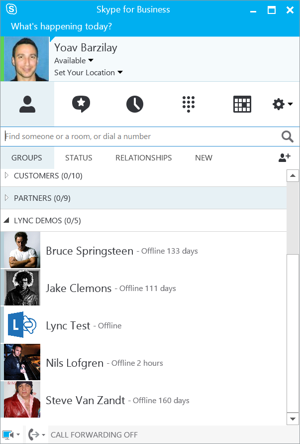 how to turn off skype for business