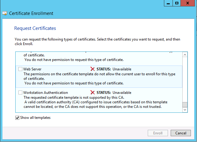 Request and enroll multi san certificates on windows server 2012 webserver yelopaper Image collections